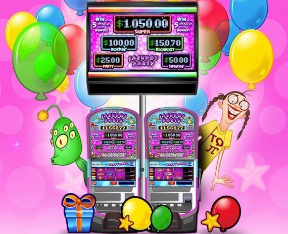slot machine, prairie band casino, jackpot party, penny slot machine