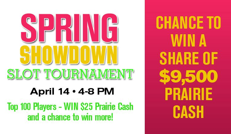 Spring Showdown Slot Tournament