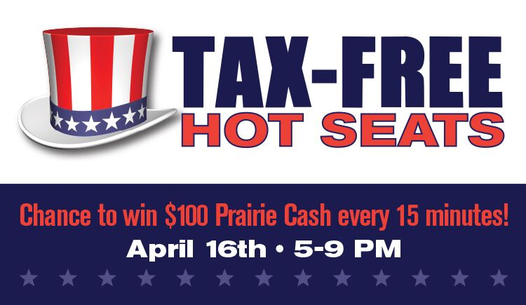 Tax Free Hot Seats