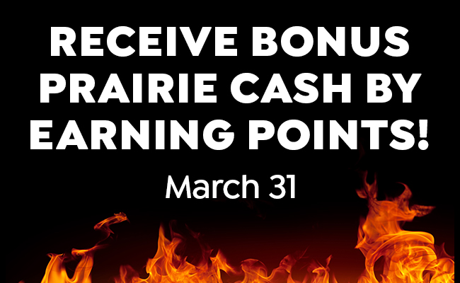 Prairie Cash Bash