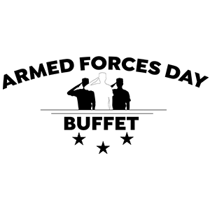 armed forces day buffet at prairie band