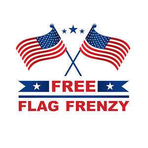 free flag frenzy logo