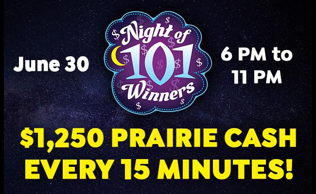 Night of 101 Winners