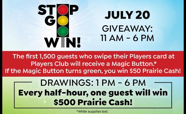Stop. Go. Win.