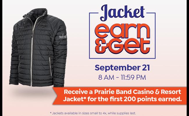 Jacket Earn & Get