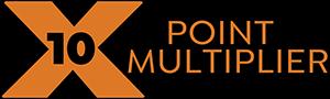 10X Point Multiplier