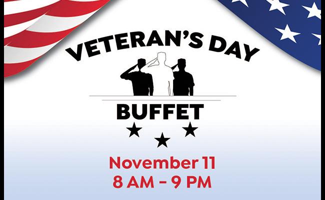 Veterans Day Buffet